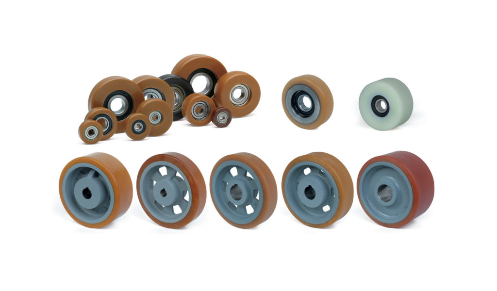 Technical wheels & guide rollers